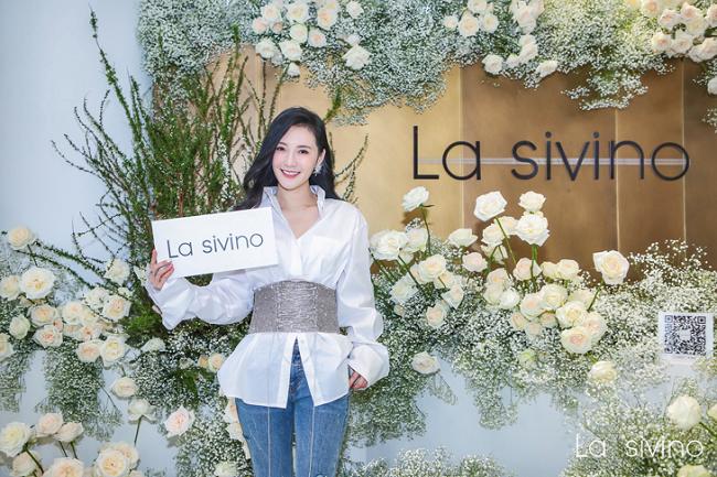 孙晶晶时装新品Lasivino上线发布会,让美丽与你不期而遇