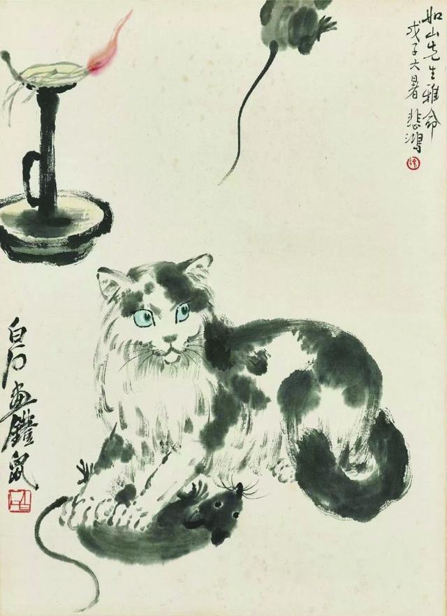 中国国画大师齐白石动物画赏析