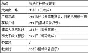 广州智慧灯杆建设的先行做法与成果
