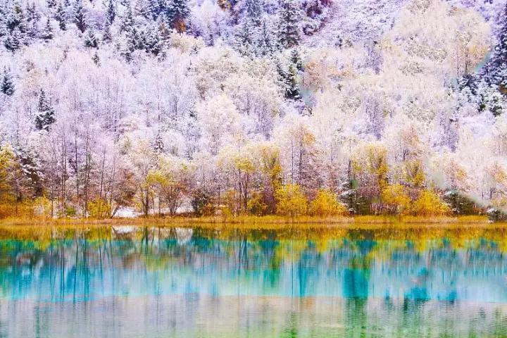 一場雪后的中國,美成畫卷,驚艷了全世界!