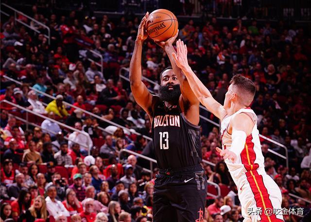NBA咬金前瞻,火箭VS老鹰,全能双卫趁火打劫取连胜