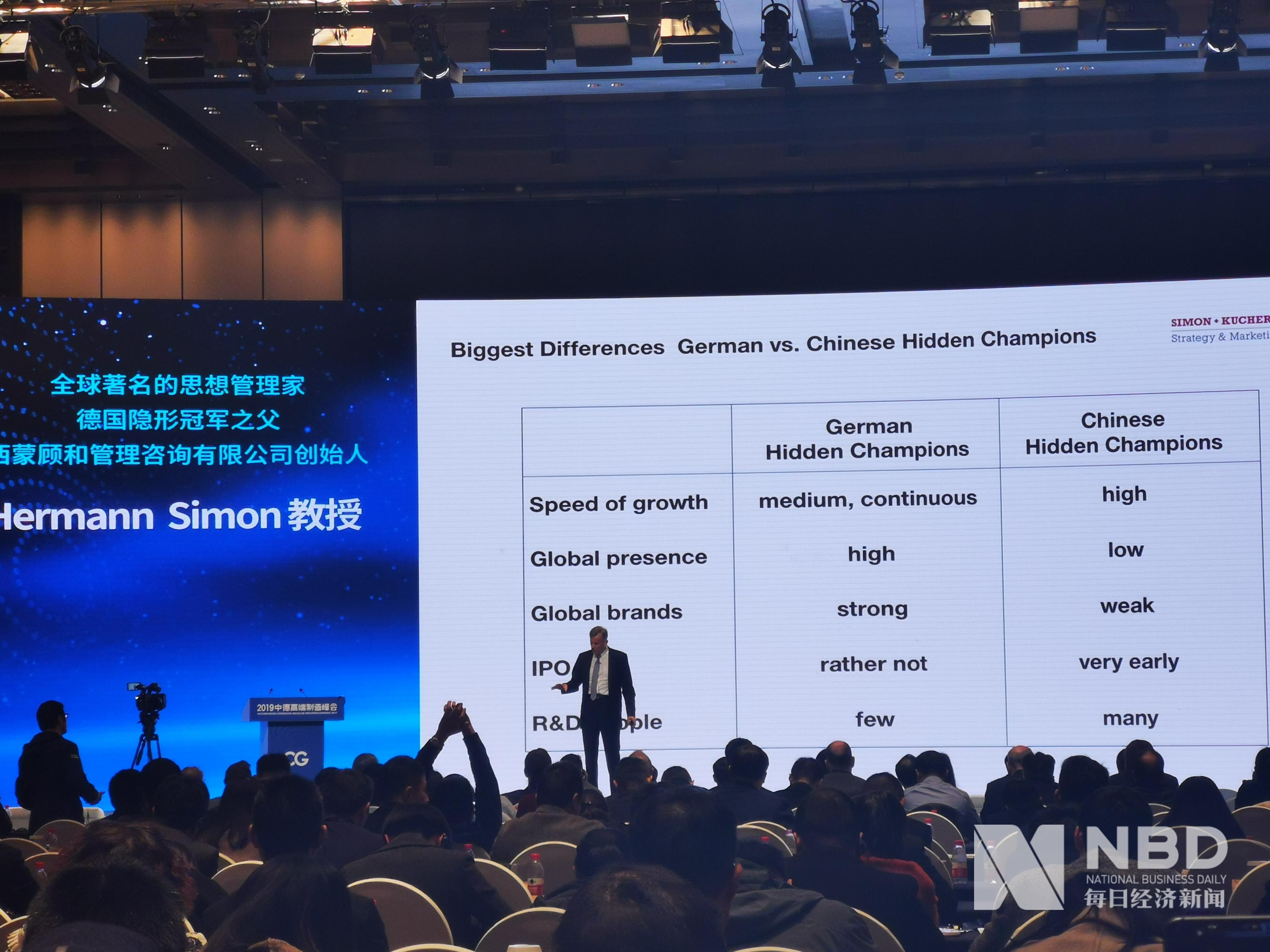 """德国""""隐形冠军之父""""赫尔曼·西蒙:中国隐形冠军企业更偏爱在发展早期IPO"""