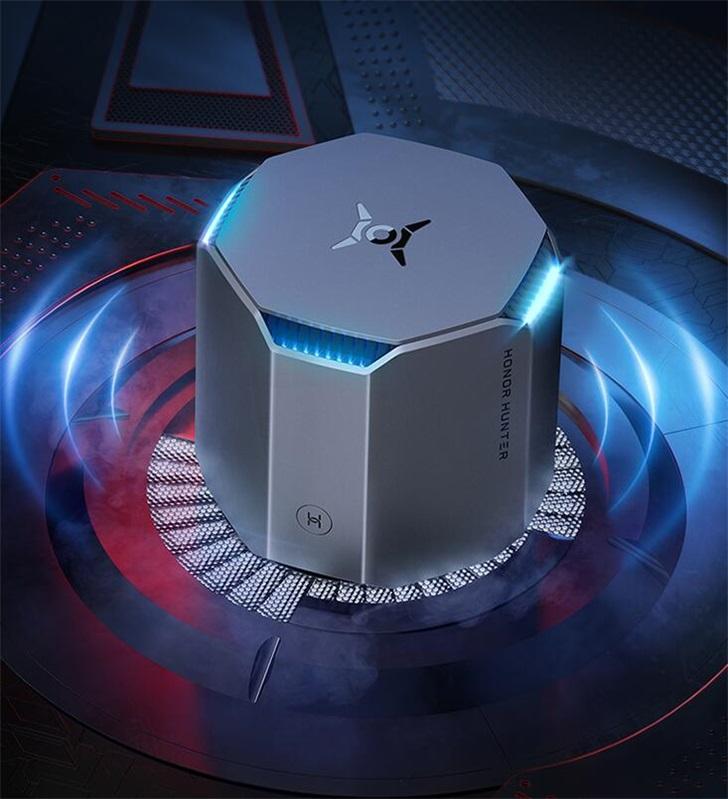 荣耀猎人游戏路由器今日开售:机甲式设计+环绕灯效,399元_Wi-Fi