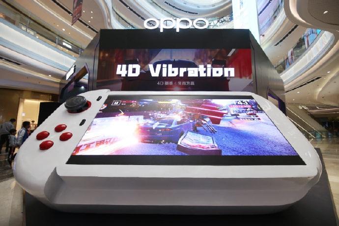 OPPO展出4米长游戏手柄,获最大的游戏手柄吉尼斯世界记录称号_消息