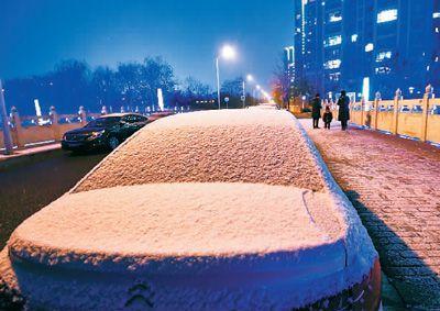 北京初雪 华北雪花到货都该做些什么有意义的事?