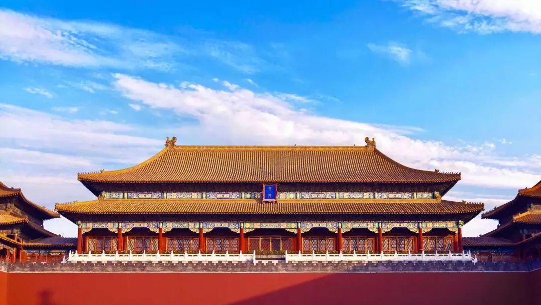 """初雪迎來北京的""""白""""?我""""皇城三原色""""表示不服!_故宮"""