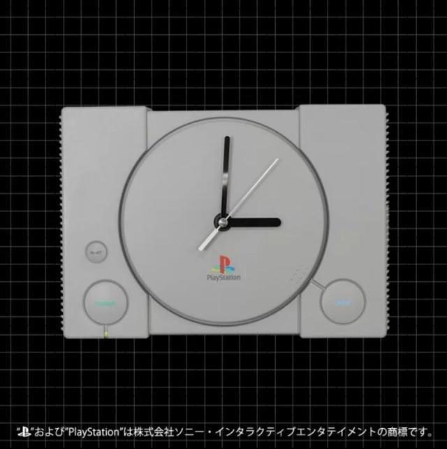 蝴蝶花图片初代PlayStation造型挂钟与枕头即将上架