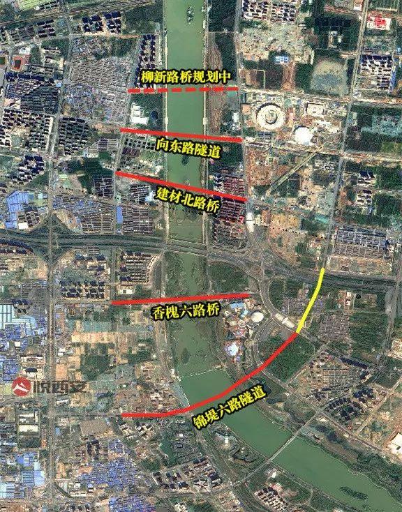 横穿灞河,三座新桥、三条隧道即将亮相西安城