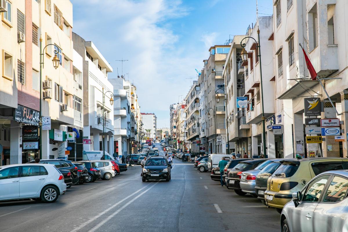 摩洛哥经济总量排名_摩洛哥地图