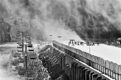 twinklemv北京西山滑雪场开门迎客