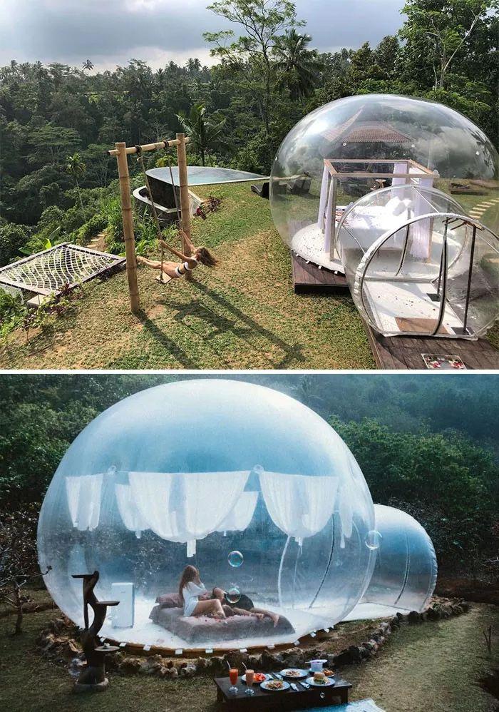 都让人,世界,度假,城堡,房子,私人,自然,梦想,圆顶,朋友