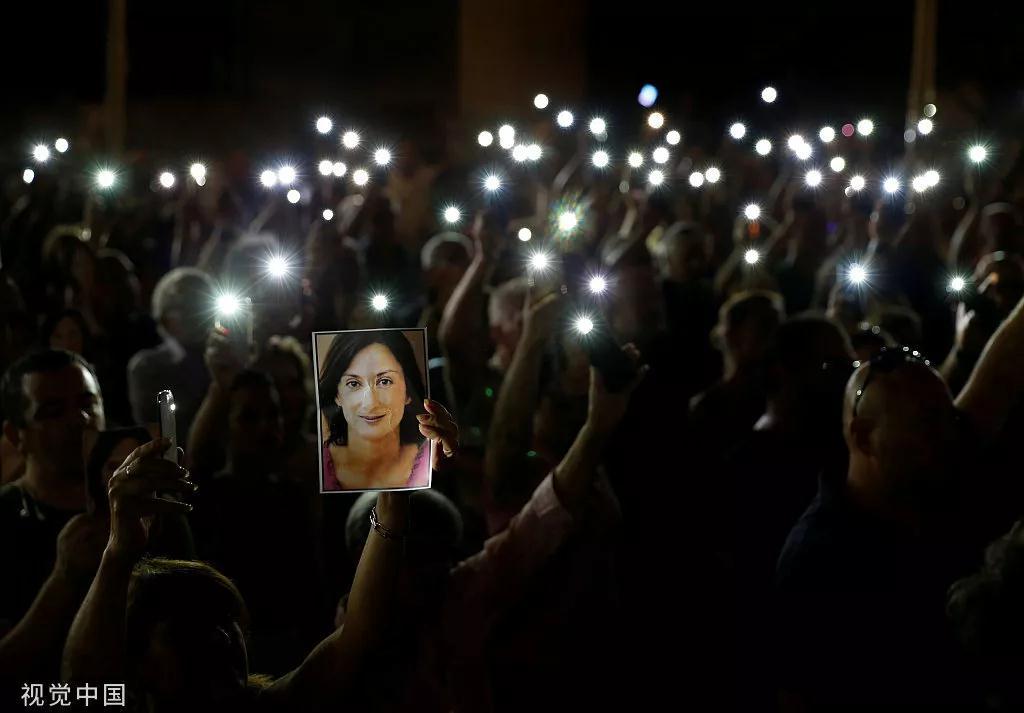 富商被捕、政客辞职,女记者之死何以撼动整个马耳他政府_中欧新闻_欧洲中文网