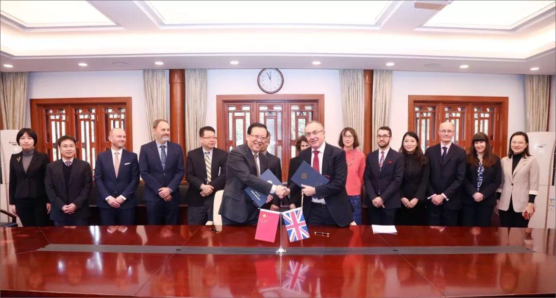 <b>燕园来客   伦敦大学学院校长访问北京大学</b>