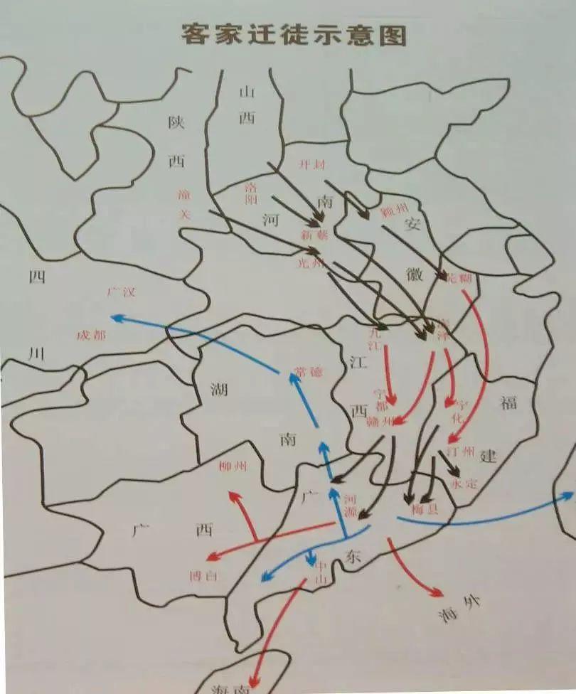 福建历史人口迁徙地图_福建地图