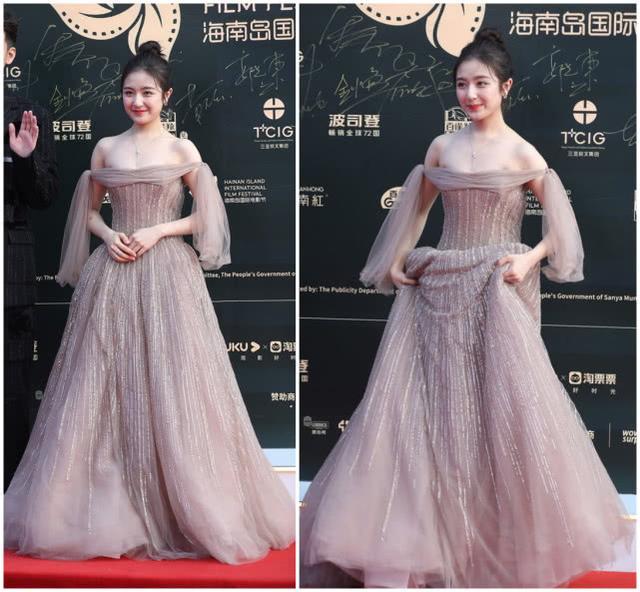 原创             最无趣红毯!明星全员穿影楼婚纱裙比美,穿黑裙的杨幂赢得太轻松