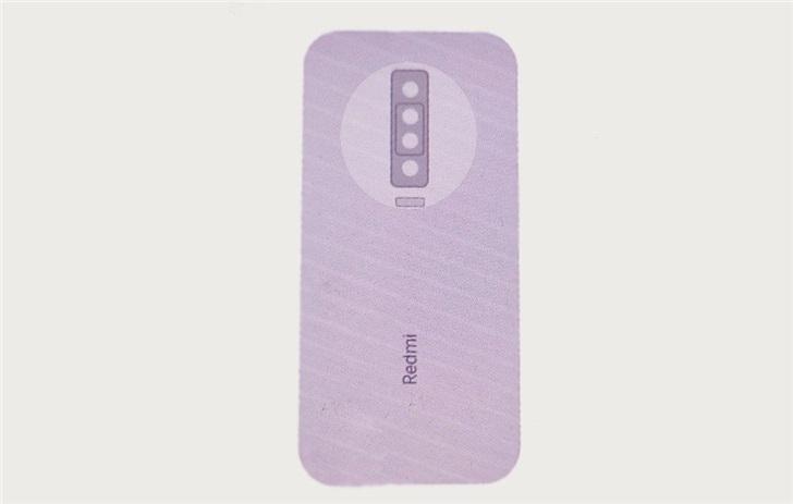 网友还原Redmi K30背部设计:有望搭载后置四摄模块