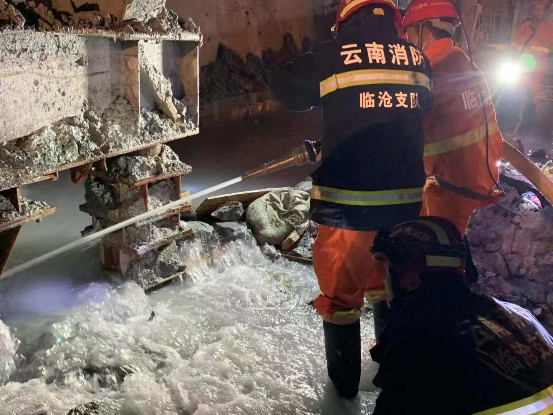 云南安石隧道突泥涌水已致8人遇难,4人仍失联