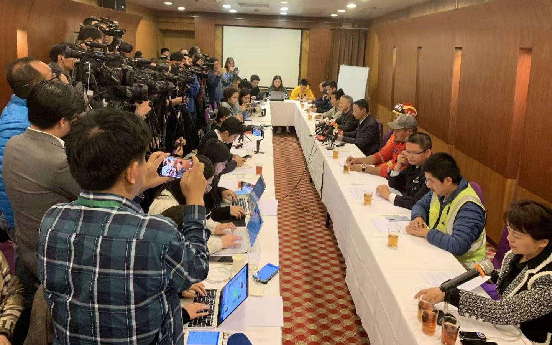 广州地陷二次发布会:救援方案合理,一被困者身份