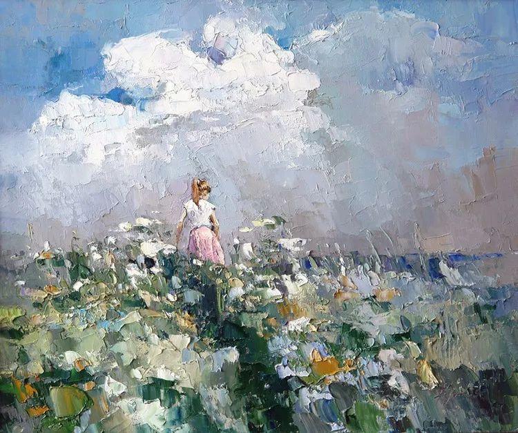 俄罗斯画家阿列克谢·扎伊采夫油画作品赏析