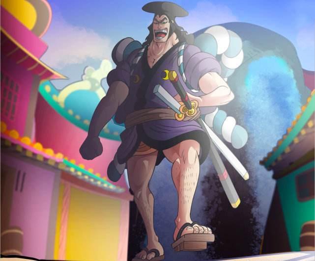 海贼王964话分析:御田太强大,白胡子担心打不过,拒绝他上船_洛克斯