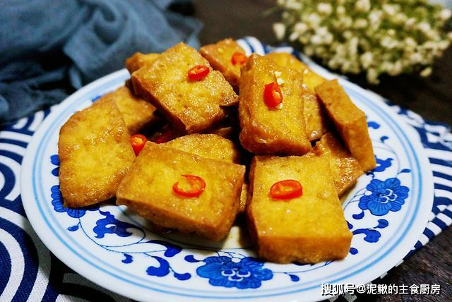 换个做法吃豆腐,好吃有嚼劲,比肉菜受欢迎,放凉再吃更美味