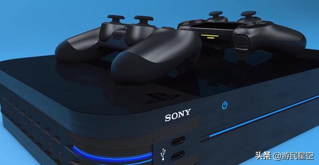 PS5开发机照片曝光,深V造型是为优化散热_手柄