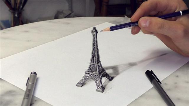 原创 少则2000,多则8000元,德国艺术家创作的3D画不仅惊艳还颇为吸金