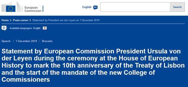 欧盟委员会新主席正式就职,首位女掌门表决心:带领欧盟成为冠军_中欧新闻_欧洲中文网