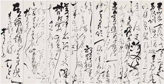 书田真味――晏晓斐书法艺术展在广州南粤先贤馆成功举办