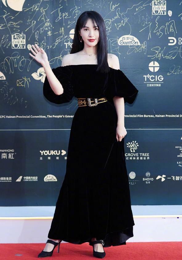 原创             海南电影节这5位女星的造型实在一言难尽:昆凌显老,李兰迪显肥