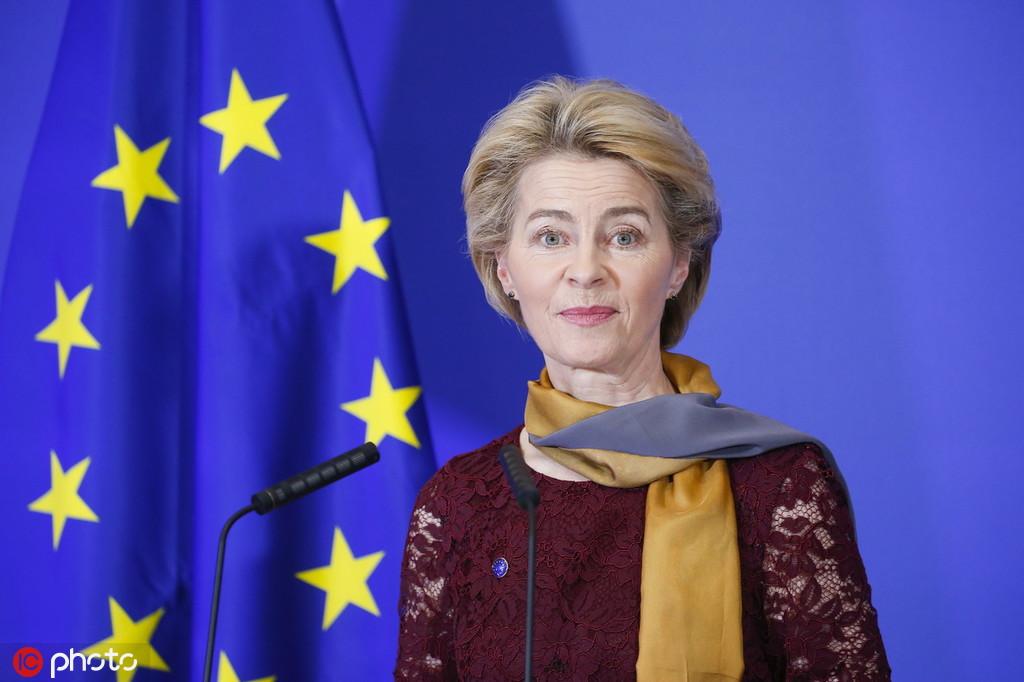 欧盟首位女主席上任:欧盟将在气候议题上领跑、挑战中美_中欧新闻_欧洲中文网