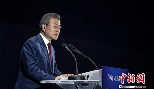 韩国总统文在寅支持率小幅上升或因大规模开展外交