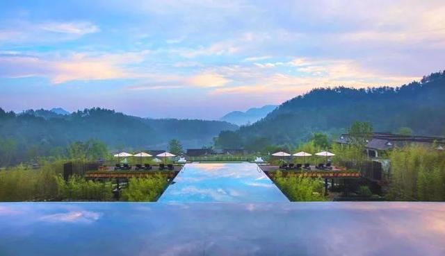 美若仙境!坐拥8000亩山水的安吉悦榕庄,在湖景房躺着赏雪景