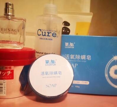 全身除螨,氧趣活氧除螨皂——一皂多用:洗脸、洗手、洗澡、洗头……