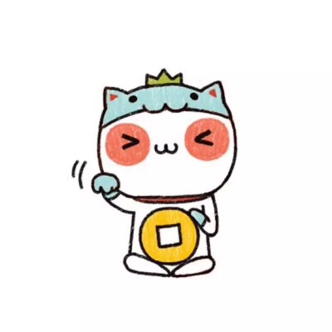 招财猫微信头像2020
