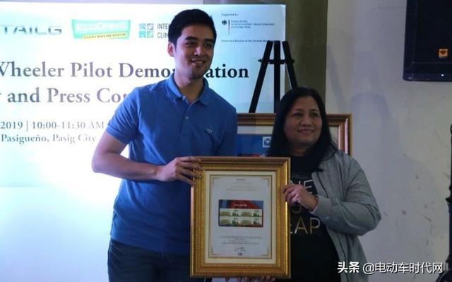 中国电动车品牌纪念邮票首次在菲律宾发行,台铃获此殊荣