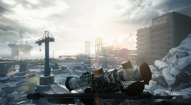 《狙击手幽灵战士契约》推出免费更新加入新霰弹枪_Kell-T