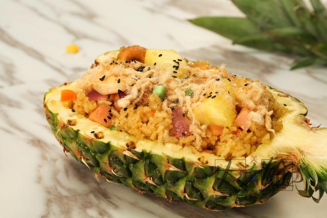 家庭版菠萝饭:好吃易上手