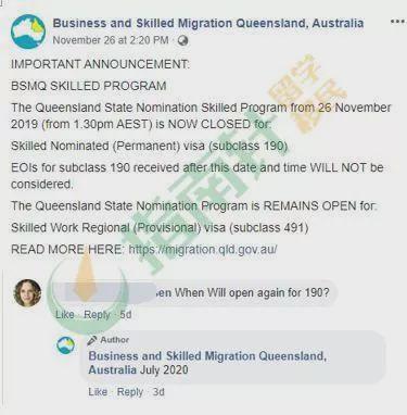 南澳州担重新开放,要求升级!昆州190州担确认本财年关闭!堪培拉州担新政Q&A