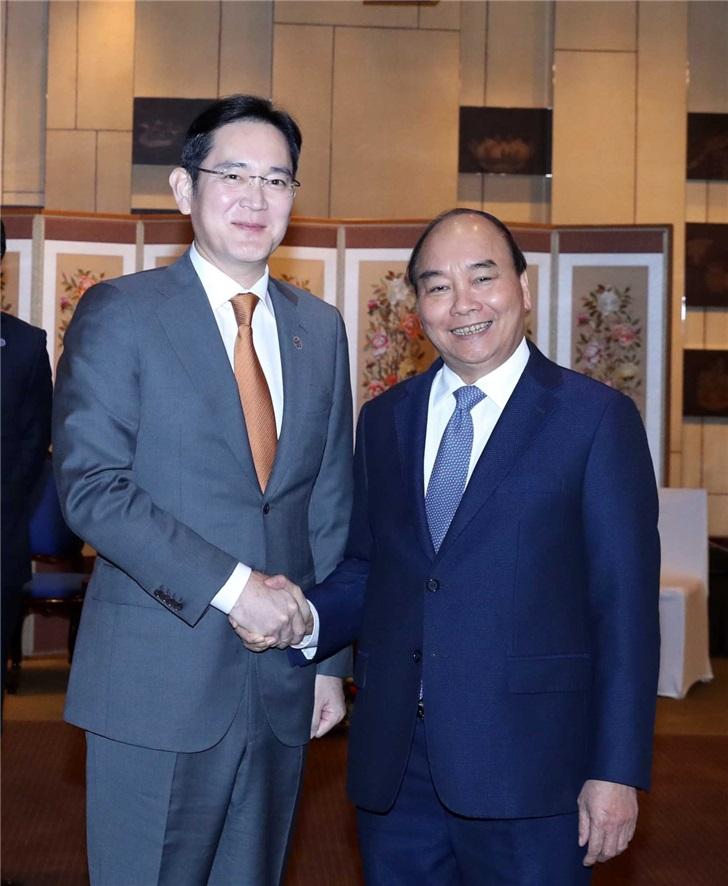 越南总理对话三星李在镕:希望你来越南建立芯片制造厂