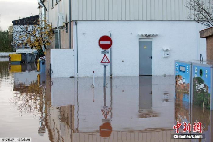 法国东南部遭暴雨侵袭引发洪灾 已致6人遇难(图)_中欧新闻_欧洲中文网