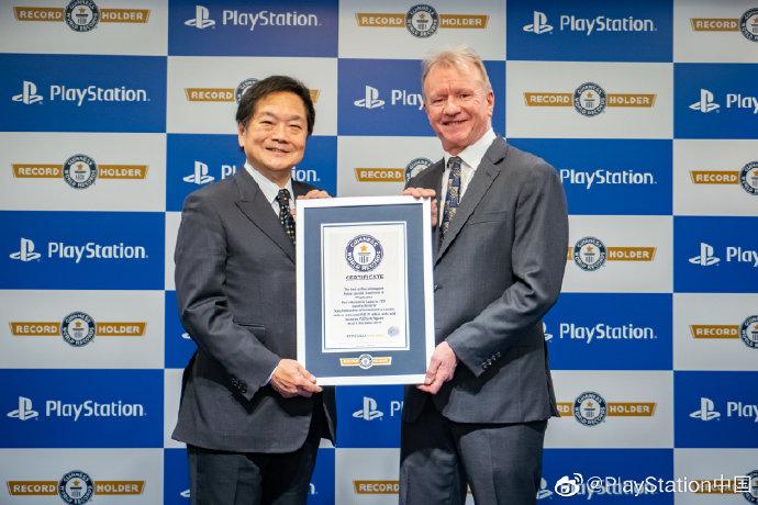 吉尼斯世界纪录!初代PS、PS2、PS3与PS4共售出超4.5亿台_中国