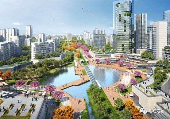 中新生态城北部片区规划获批 两处塔楼群 慢行系统