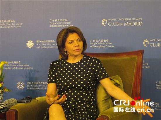 哥斯达黎加前总统称赞中国为全球落实2030年可持续发展议程作出重要贡献