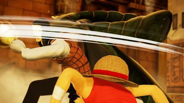 太阳神产品《海贼无双4》新预告片 沙鳄大战路飞