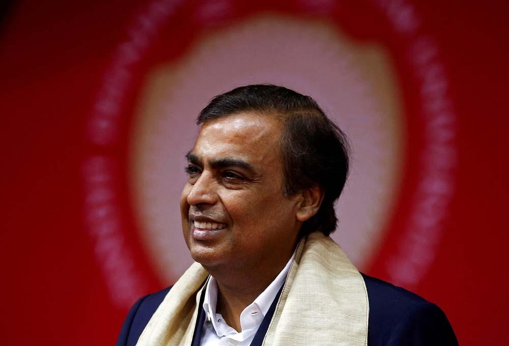 印度首富躋身全球十大富豪行列,為印度最大私營企業董事長_克什·安巴尼