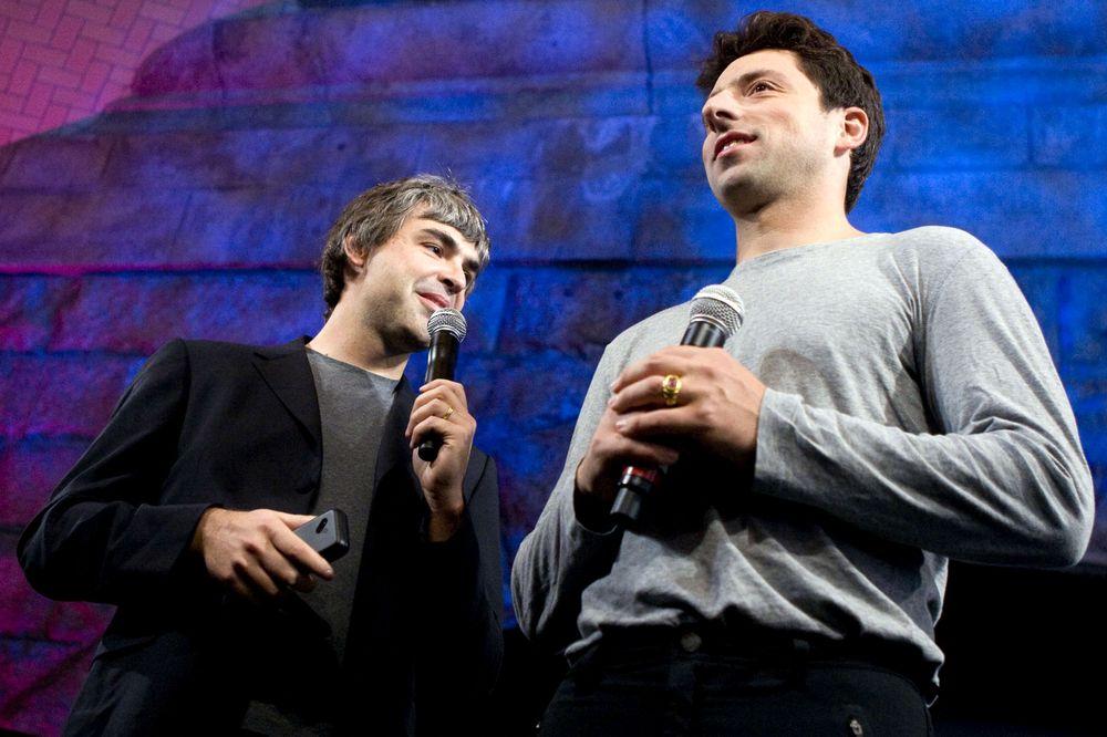 哈刚少侠谷歌两位创始人将从母公司辞职 印裔