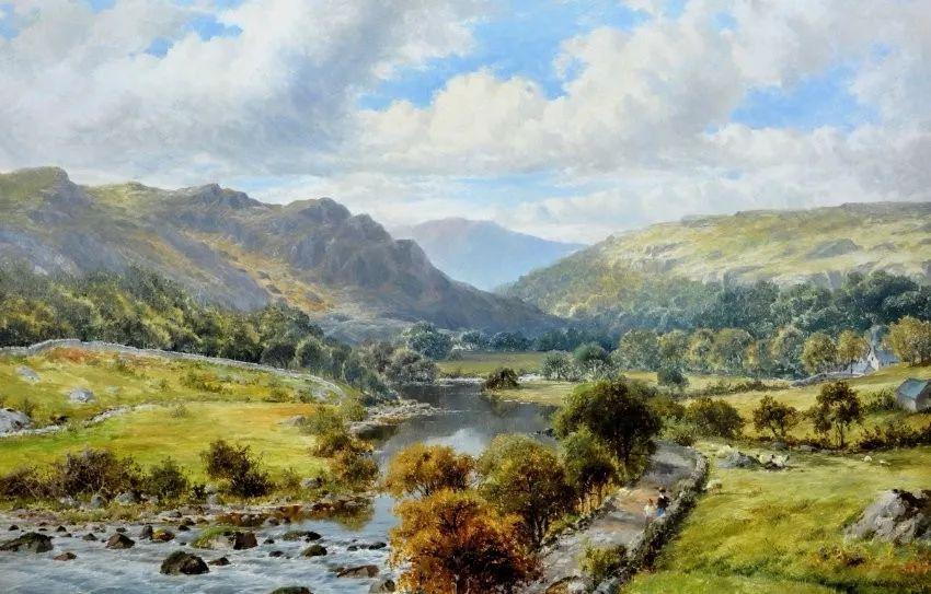 英国画家威廉·亨利·曼德作品欣赏
