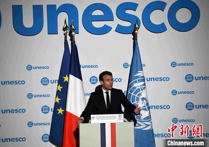 马克龙:俄是解决国际问题的伙伴 望与其改善关系