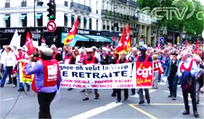 法国全国大罢工预计5日开始 我驻法使馆提醒中国公民谨慎_中欧新闻_欧洲中文网
